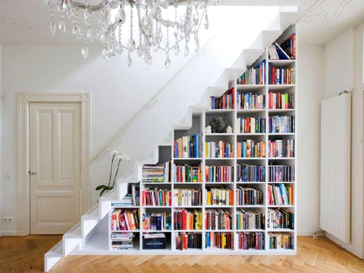 tangga rumah buku
