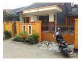 Sewa Rumah di Depok Cimanggis dekat tol cibubur