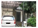 Kontrakan sewa rumah cluster nyaman DeLatinos Santiago BSD Tangerang Selatan Banten