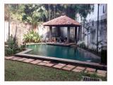 Disewakan Rumah Mewah 5 Kamar, 3 tingkat di Puri Mutiara, Cipete, Jakarta Selatan