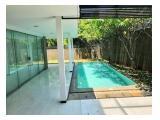 Disewakan Rumah Mewah di Daerah Bintaro dengan fasilitas kolam renang dan taman