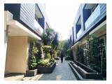 For Rent Town House Minimalis at Kemang Selatan with Full furnished and pool